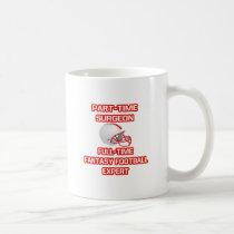 Surgeon .. Fantasy Football Expert Classic White Coffee Mug