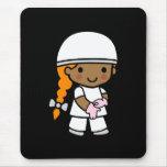 Surgeon Girl 1 Mouse Pad