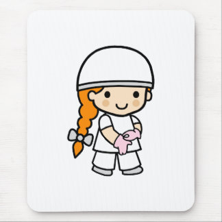 Surgeon Girl 2 Mouse Pad
