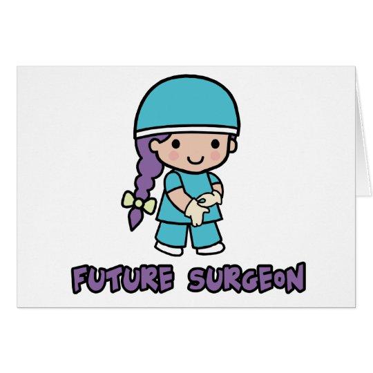 Surgeon (girl) card