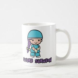 Surgeon (girl) classic white coffee mug