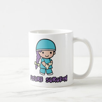 Surgeon (girl) coffee mug