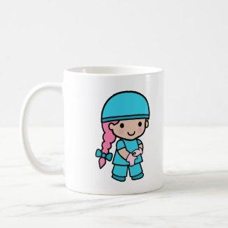 Surgeon Girl mug