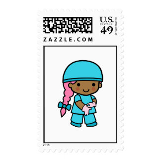 Surgeon Girl Postage