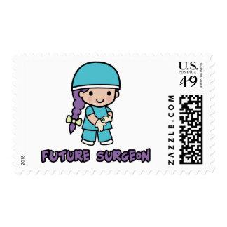 Surgeon (girl) postage