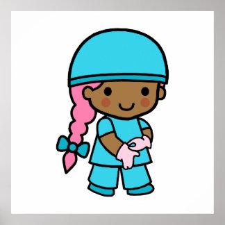 Surgeon Girl Poster