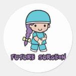 Surgeon (girl) sticker