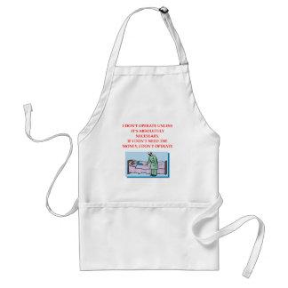 surgeon joke adult apron