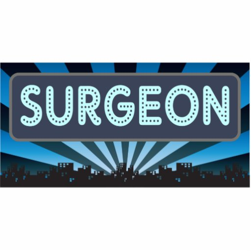 Surgeon Marquee Cut Outs