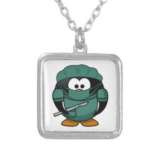 Surgeon Penguin Cartoon Necklaces