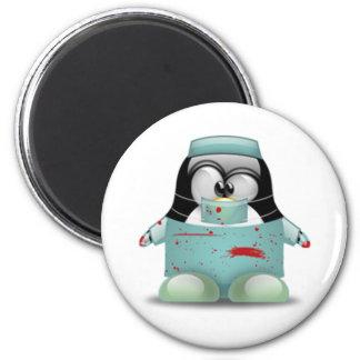 Surgeon Tux 2 Inch Round Magnet