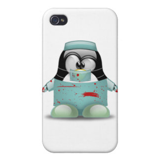 Surgeon Tux Cases For iPhone 4