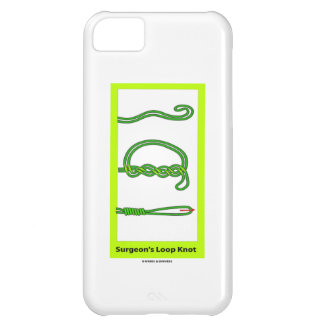 Surgeon's Loop Knot (Knotology) iPhone 5C Case