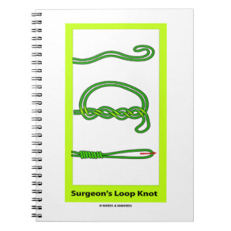 Surgeon's Loop Knot (Knotology) Spiral Note Books