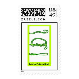 Surgeon's Loop Knot (Knotology) Stamp
