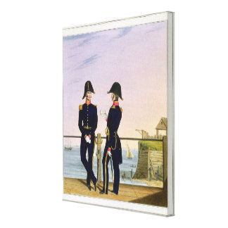 Surgeons, plate 6 from 'Costume of the Royal Navy Gallery Wrap Canvas