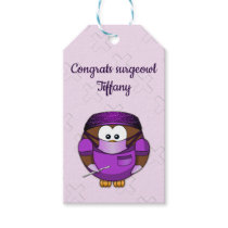 surgeowl girl - gift tags