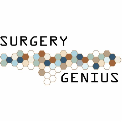 Surgery Genius Acrylic Cut Outs