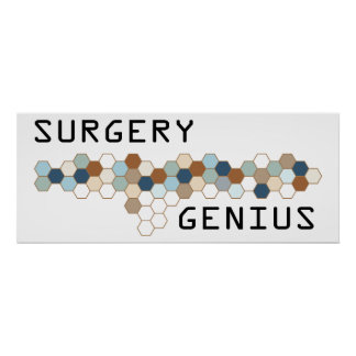 Surgery Genius Posters