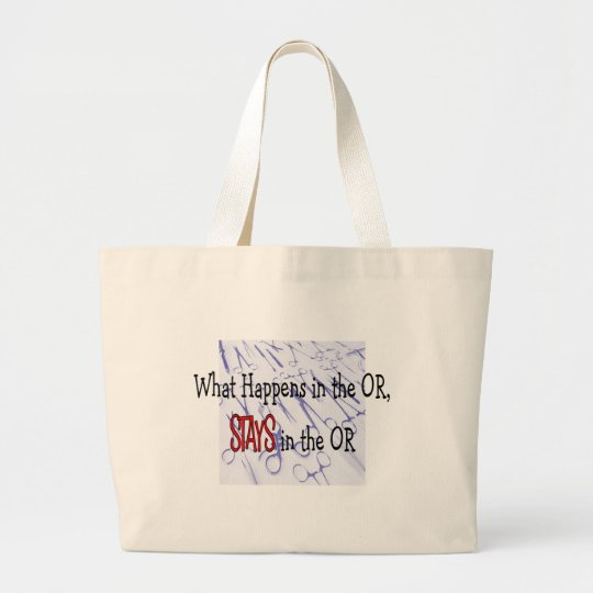 Surgery Professionals Gifts Large Tote Bag