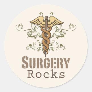 Surgery Rocks Surgeon Stickers