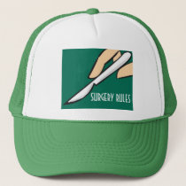 Surgery Rules Jockey Trucker Hat