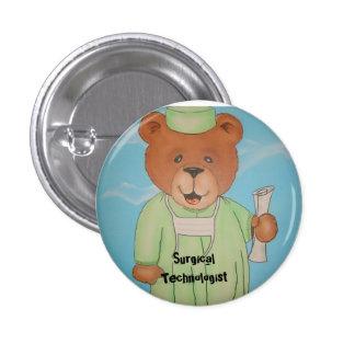Surgery tech gifts pinback button