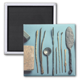 Surgical instruments 2 inch square magnet