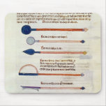 Surgical instruments from a treatise mousepads