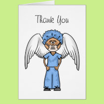 Surgical Male Nurse Thank You Card