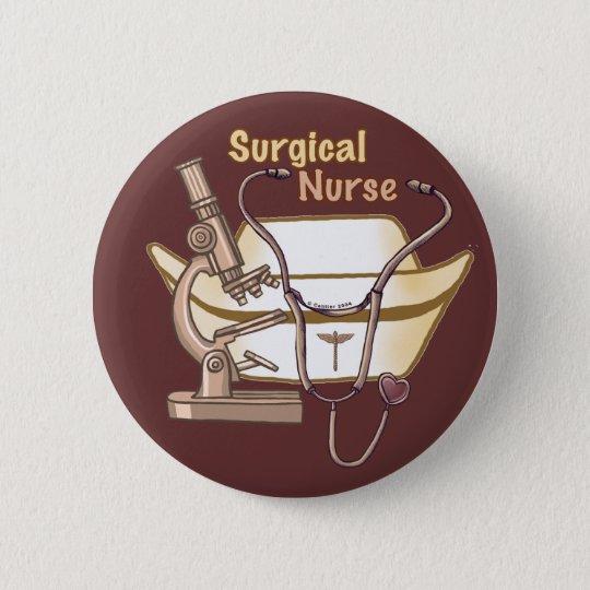 Surgical Nurse Collage Pin