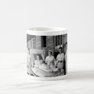 Surgical patients.  Base hospital_War Image Coffee Mug