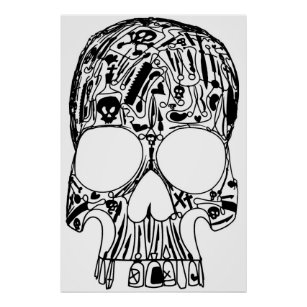 surgical posters photo prints zazzle Surg Tech Memes surgical skull poster