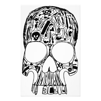 Surgical Skull Stationery