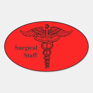 Surgical Staff Sticker