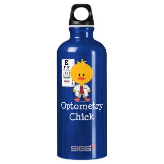 Surgical Tech Chick Aluminum Water Bottle