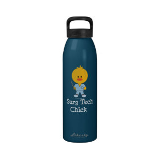 Surgical Tech Chick Water Bottle