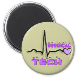 Surgical Tech Gifts  QRS Design 2 Inch Round Magnet