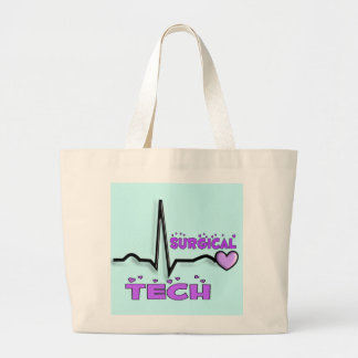 Surgical Tech Gifts  QRS Design Jumbo Tote Bag