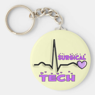 Surgical Tech Gifts  QRS Design Keychain