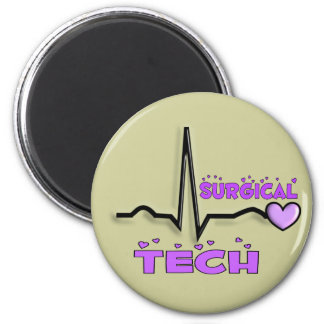 Surgical Tech Gifts  QRS Design Magnet