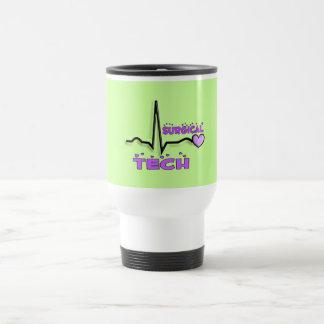 Surgical Tech Gifts  QRS Design Travel Mug