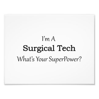 Surgical Tech Photo Print