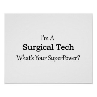 Surgical Tech Poster