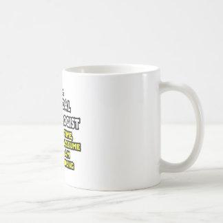 Surgical Technologist Joke .. Never Wrong Coffee Mug
