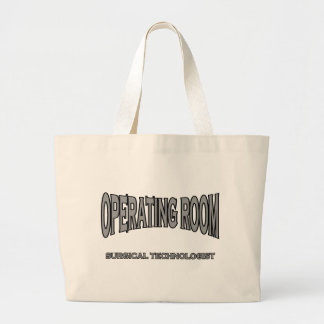 Surgical Technologist - Operating Room (black) Tote Bags