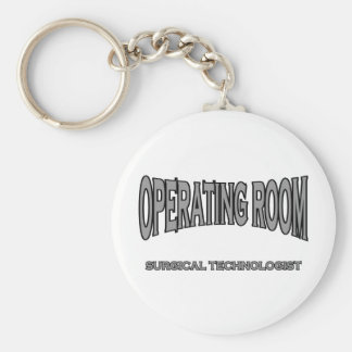 Surgical Technologist - Operating Room (black) Keychain