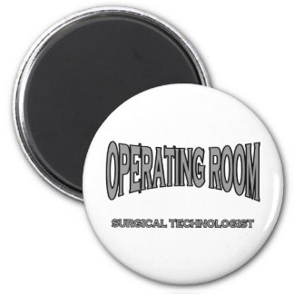 Surgical Technologist - Operating Room (black) Magnet