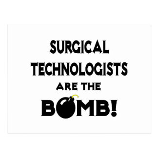 Surgical Technologists Are The Bomb! Postcard