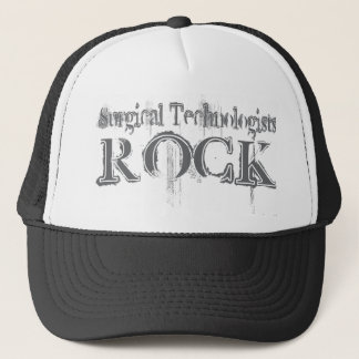 Surgical Technologists Rock Trucker Hat